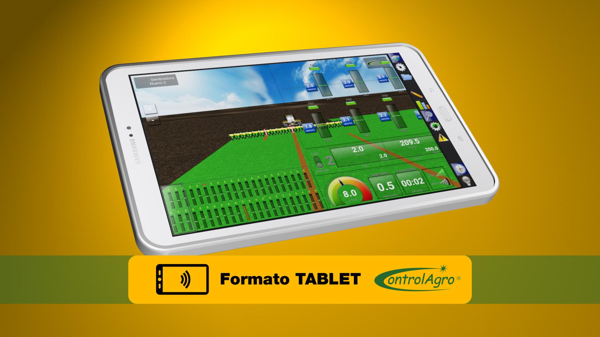 El software de control y operación del CAS 5100T esta diseñado para una pantalla tablet full color.