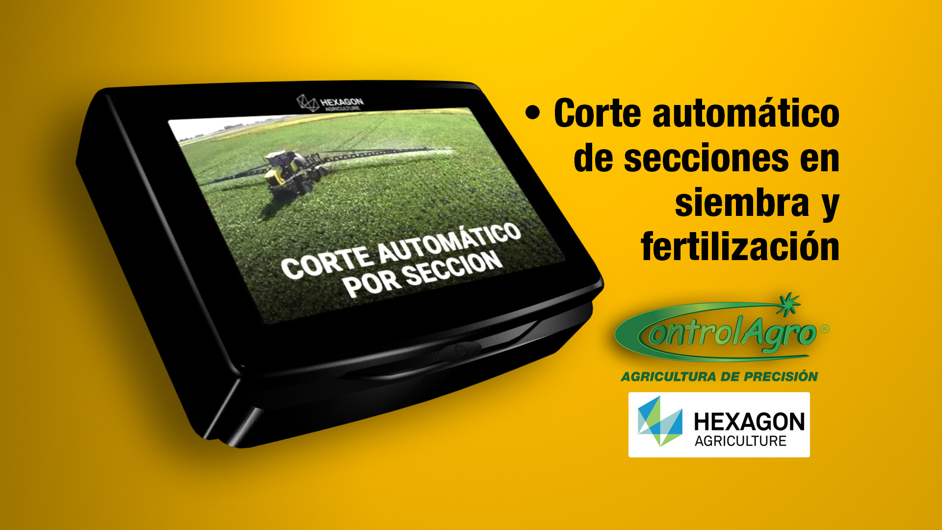 Corte Automático de seccion en siembra y fertilización
